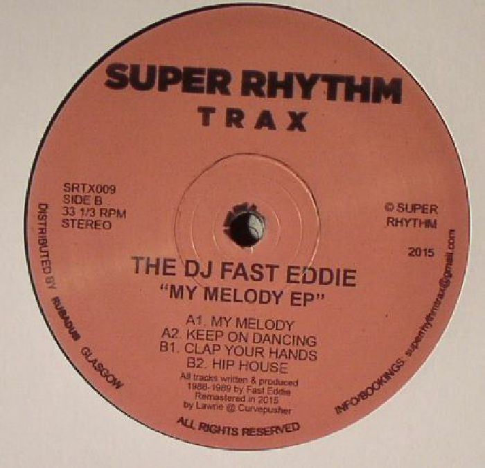 DJ FAST EDDIE, The - My Melody EP (remastered)