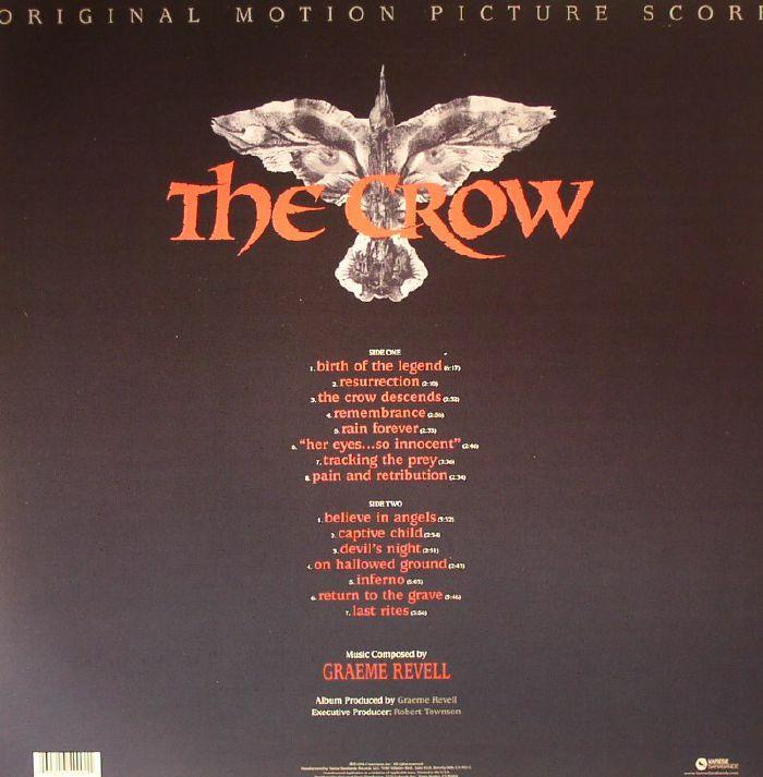 Graeme Revell The Crow Soundtrack Vinyl At Juno Records