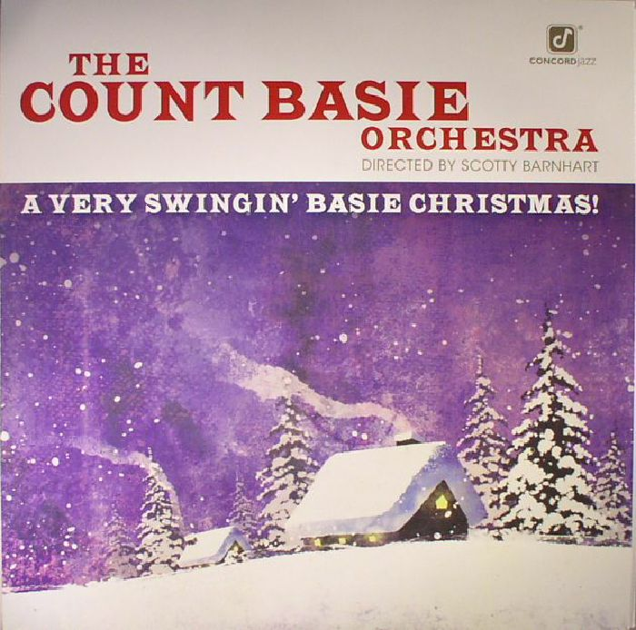 COUNT BASIE ORCHESTRA, The - A Very Swingin' Basie Christmas!