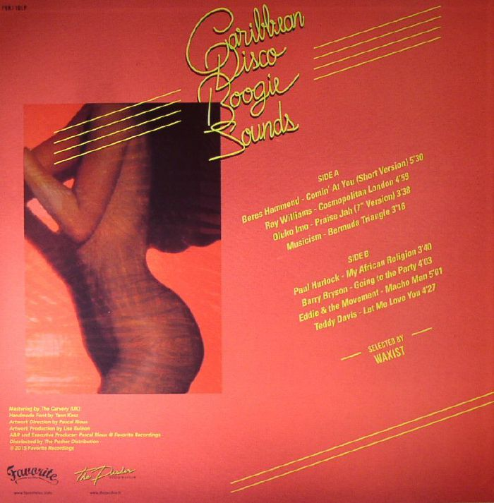WAXIST/VARIOUS - Caribbean Disco Boogie Sounds 1977-1982
