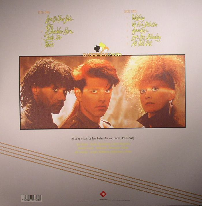 THOMPSON TWINS - Quick Step & Side Kick (remastered)