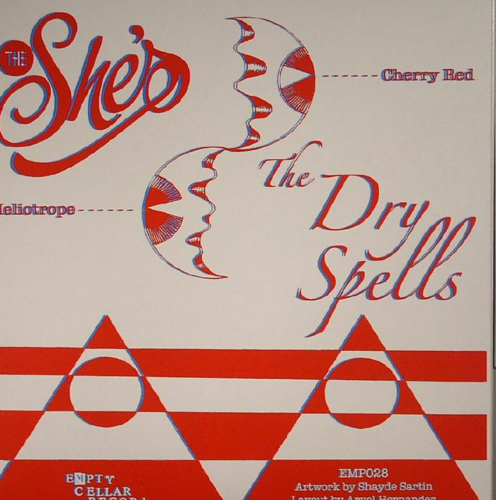 SHE'S, The/THE DRY SPELLS - Cherry Red