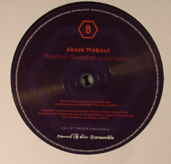 AKSAK MABOUL - Onze Danses Pour Combattra La Migraine (Krikor remixes)