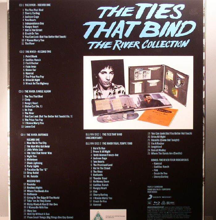 Bruce SPRINGSTEEN The Ties That Bind: The River Collection