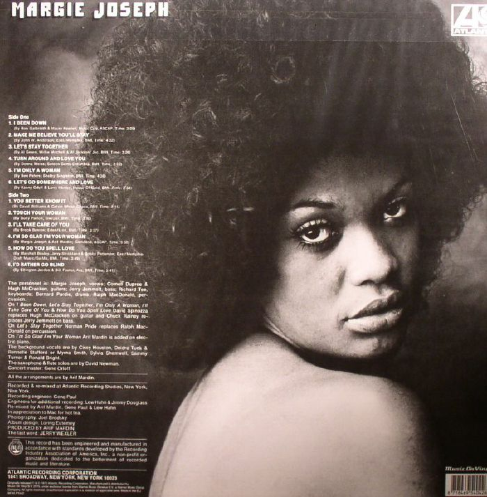 JOSEPH, Margie - Margie Joseph