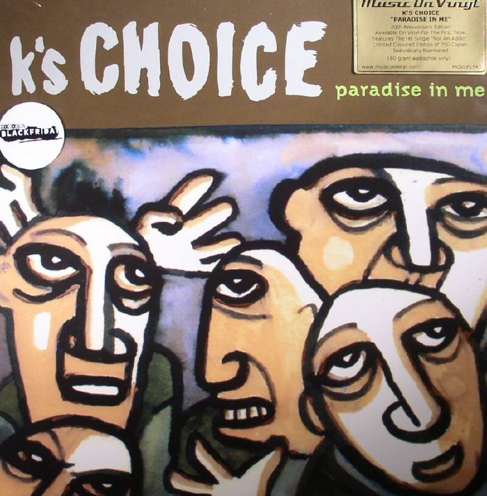 K'S CHOICE - Paradise In Me: 20th Anniversary Edition (Record Store Day Black Friday 2015)