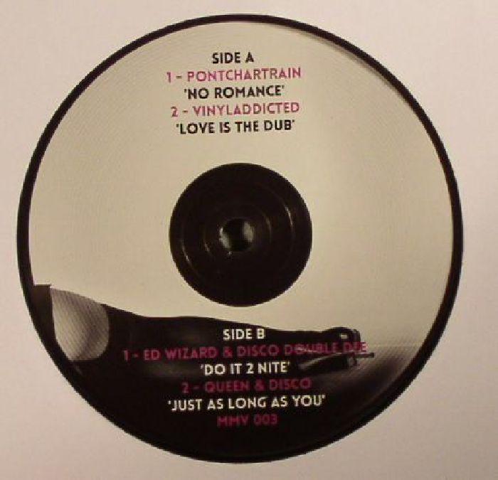 PONTCHARTRAIN/VINYLADDICTED/ED WIZARD/DISCO DOUBLE DEE/QUEEN & DISCO - No Romance EP