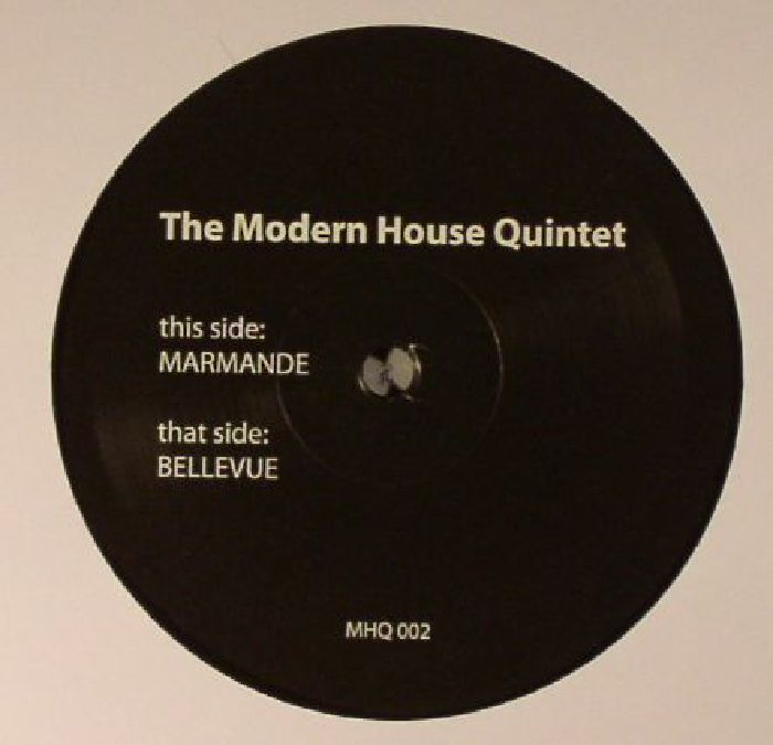 Modern house quintet marmande vinyl at juno records for Modern house quintet chora