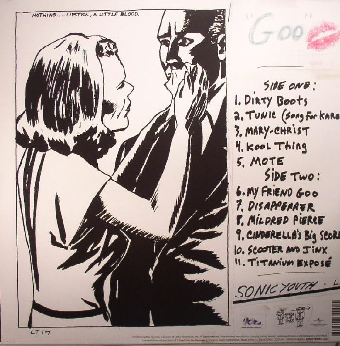 SONIC YOUTH - Goo (remastered)
