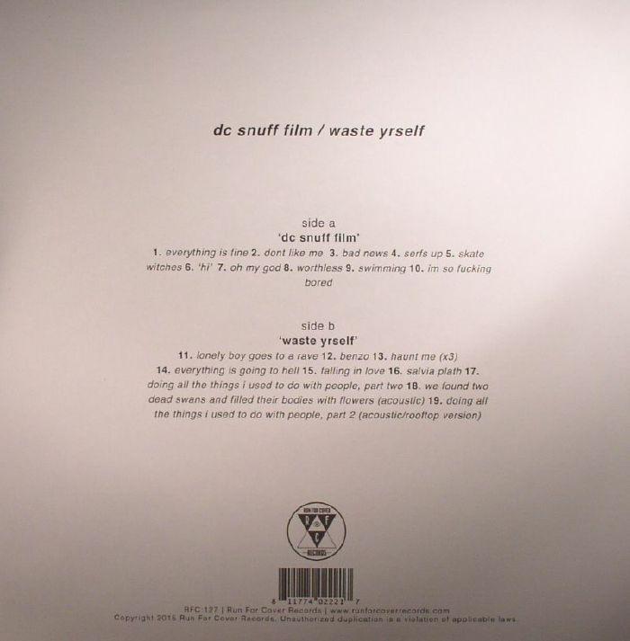 TEEN SUICIDE DC Snuff Film/Waste Yrself vinyl at Juno Records.