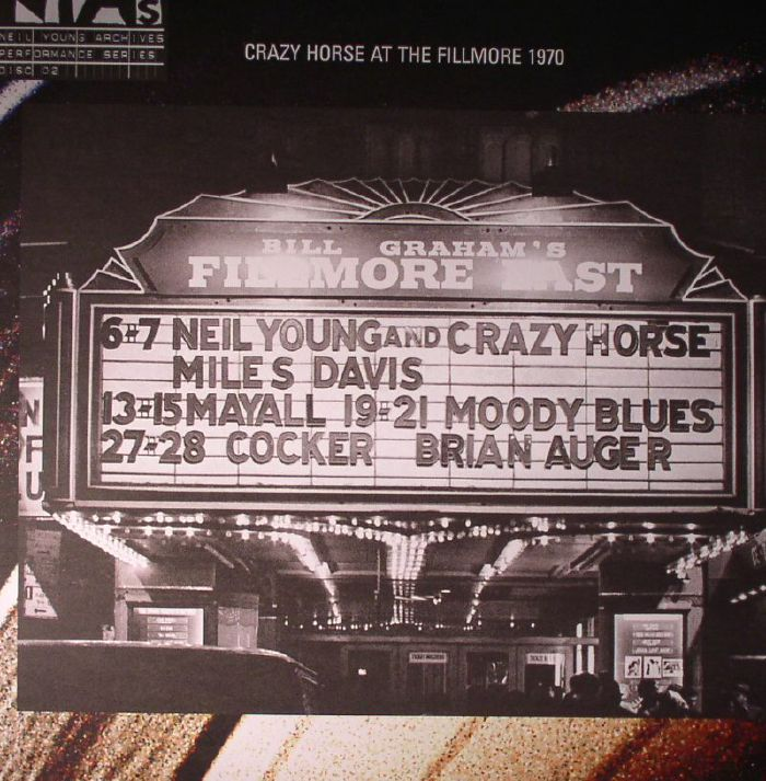 Neil YOUNG/CRAZY HORSE Live At The Fillmore East March 6 & 7 1970 vinyl at Juno Records.
