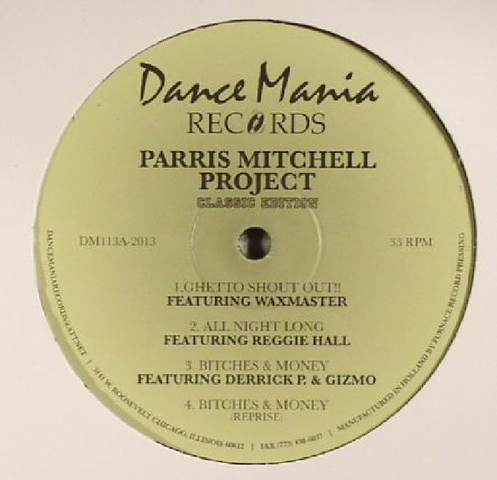 MITCHELL, Parris - Project (repress)