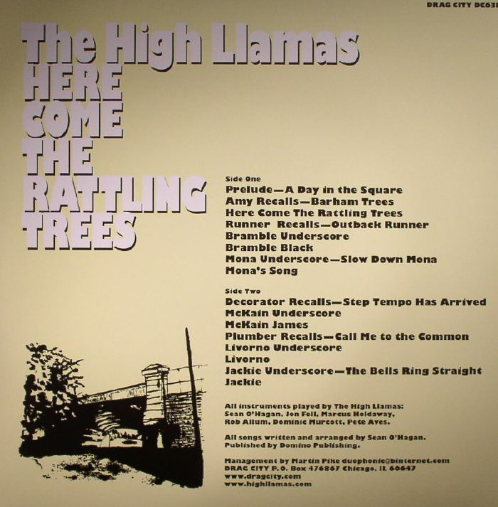 HIGH LLAMAS, The - Here Come The Rattling Trees