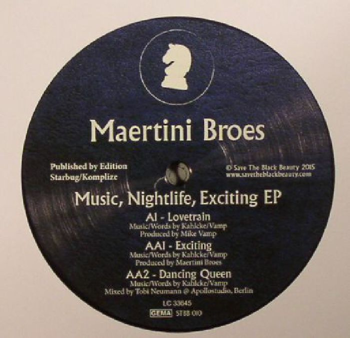 MAERTINI BROES - Music Nightlife Exciting EP