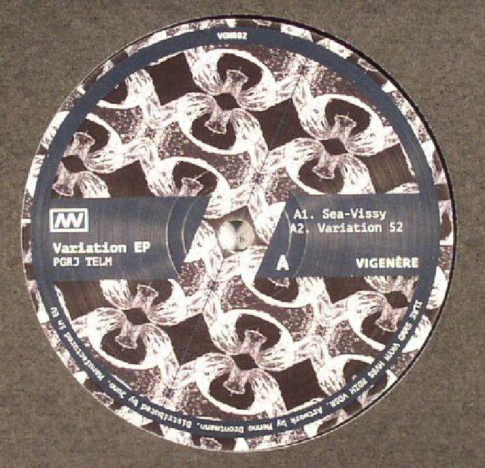 PGRJ TELM - Variation EP