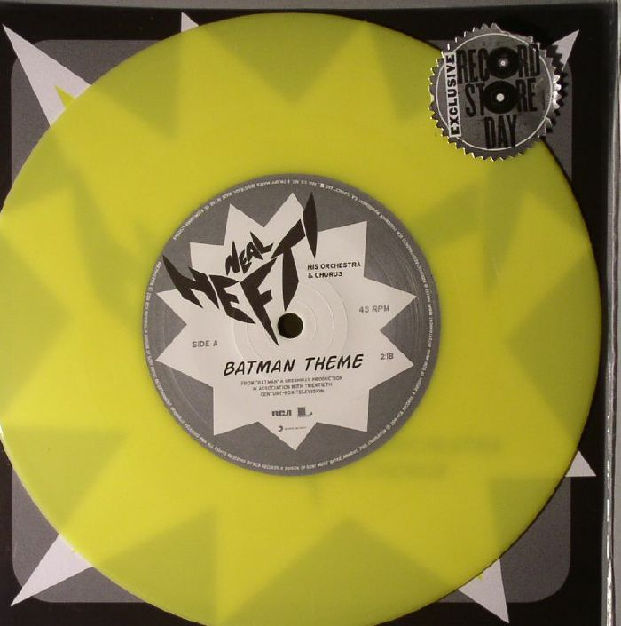 HEFTI, Neal - Batman Theme/The Batusi (Record Store Day Black Friday 2015)