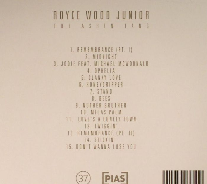 ROYCE WOOD JUNIOR - The Ashen Tang (Deluxe Edition)