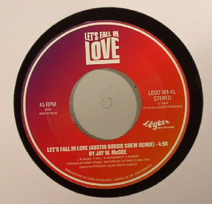 McGEE, Jay W - Let's Fall In Love