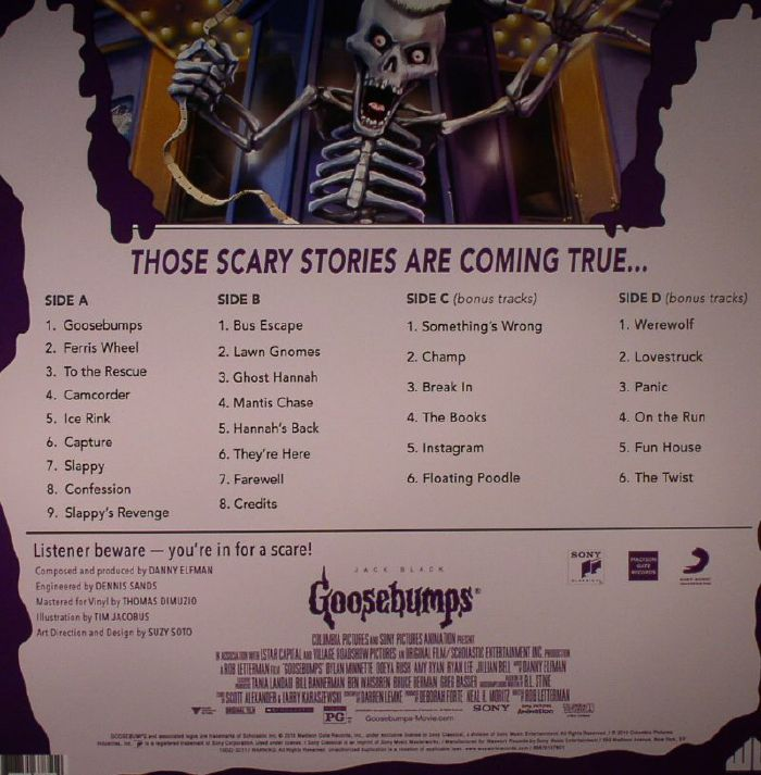 ELFMAN, Danny - Goosebumps (Soundtrack)