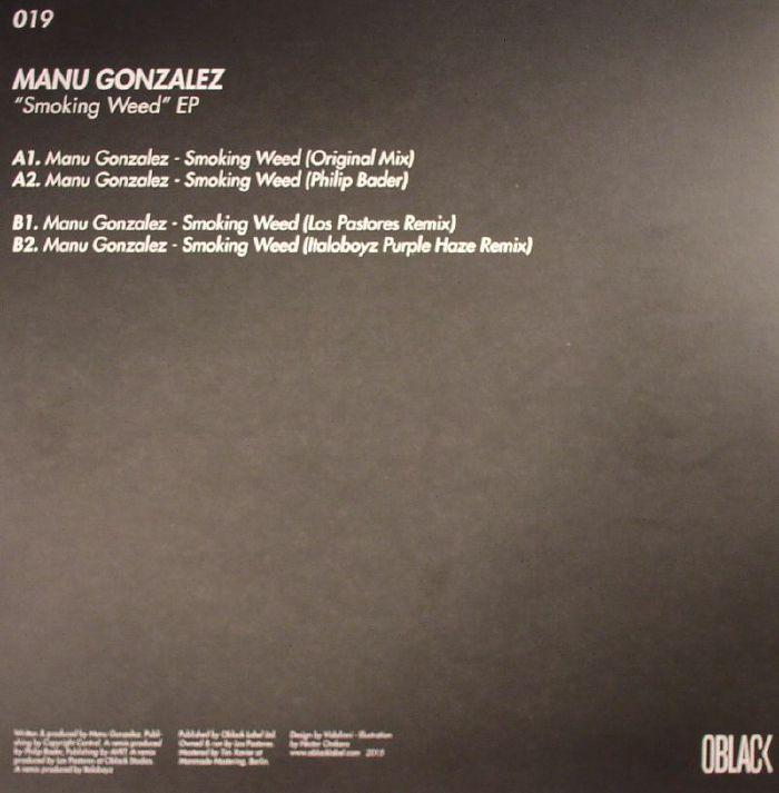 GONZALEZ, Manu - Smoking Weed EP