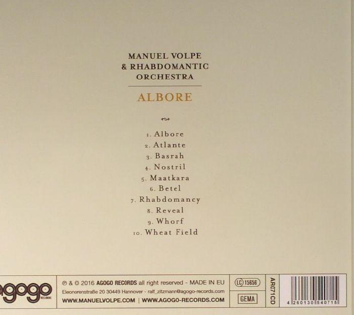 VOLPE, Manuel/RHABDOMANTIC ORCHESTRA - Albore