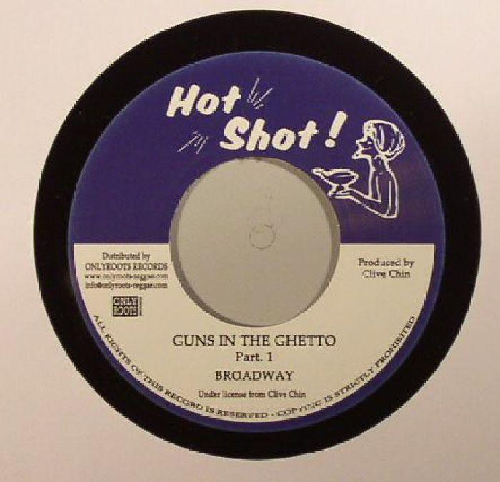BROADWAY/RANDY'S ALL STARS - Guns In The Ghetto