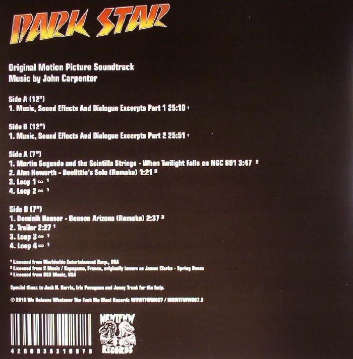 CARPENTER, John - Dark Star (Soundtrack) (remastered)