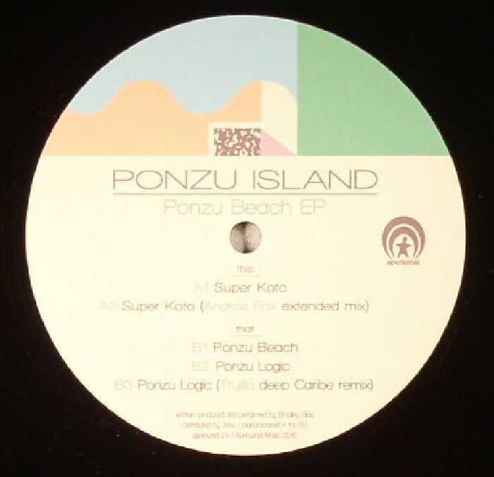 PONZU ISLAND - Ponzu Beach EP (including Andras Fox remix)