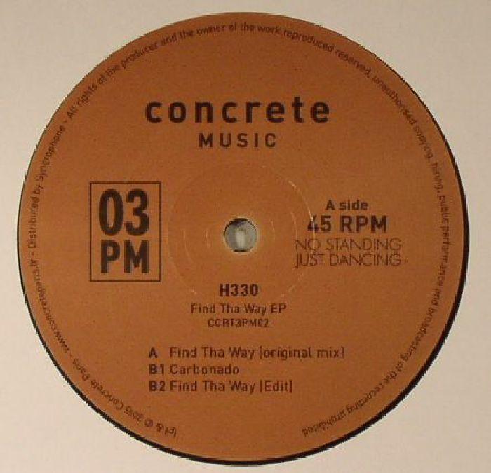 H330 - Find Tha Way EP