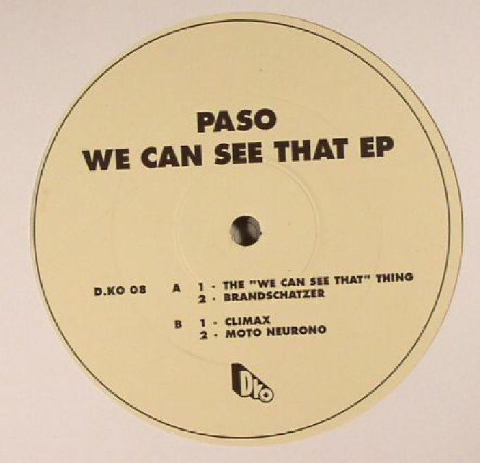 PASO - We Can See That EP