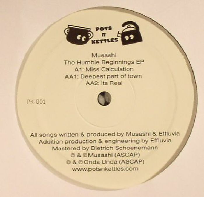 MUSASHI - The Humble Beginnings EP