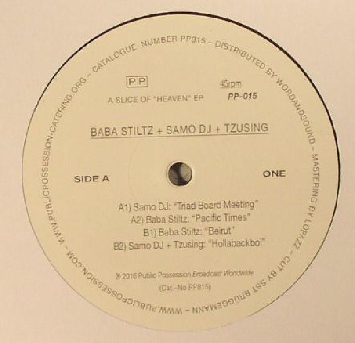 BABA STILTZ/SAMO DJ/TZUSING - A Slice Of Heaven EP