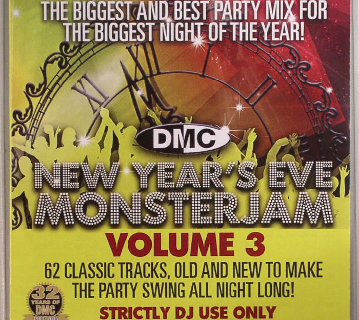 LAYMAN, Rod/VARIOUS - New Year's Eve: Monsterjam 3 (Strictly DJ Only)