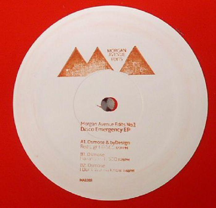 OSMOSE/BYDESIGN - Disco Emergency EP