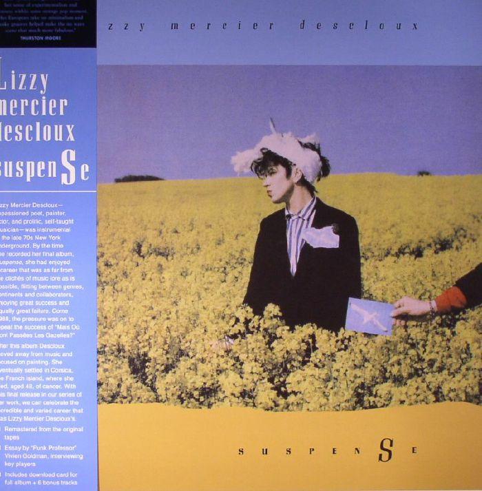 DESCLOUX, Lizzy Mercier - Suspense (remastered)