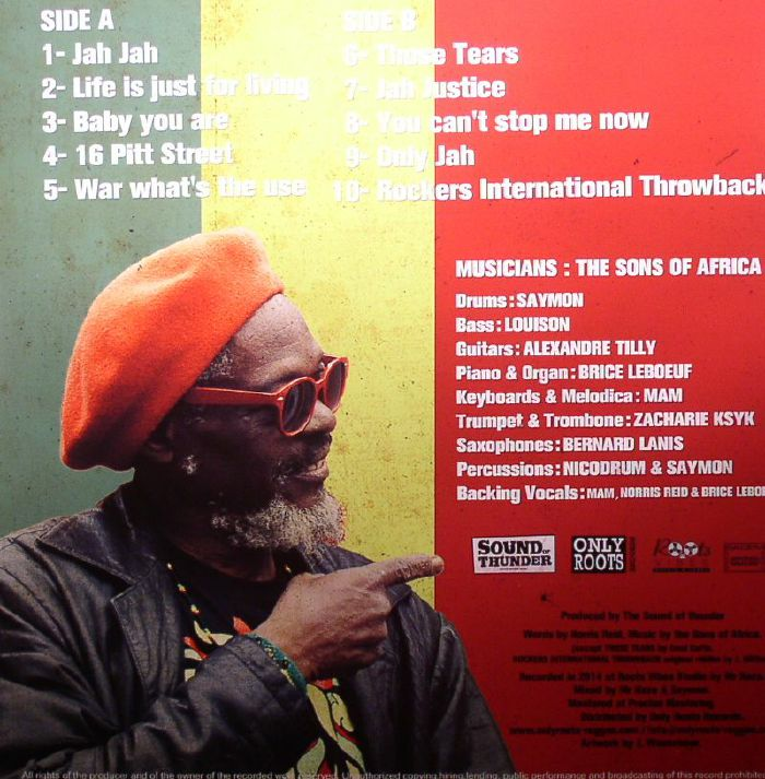 REID, Norris/THE SONS OF AFRICA - Rockers International Throwback