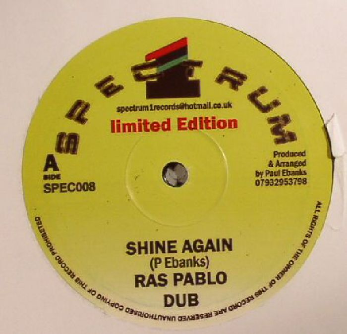 RAS PABLO - Shine Again