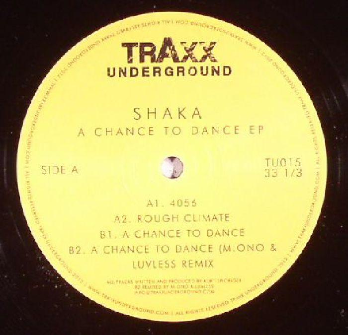 SHAKA - A Chance To Dance EP