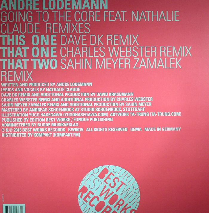 LODEMANN, Andre feat NATHALIE CLAUDE - Going To The Core (remixes)