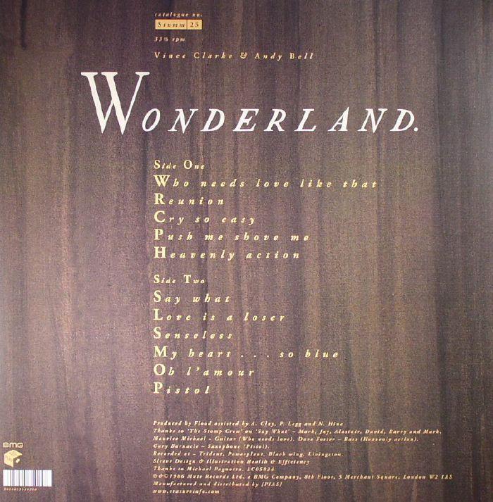 ERASURE - Wonderland: 30th Anniversary Edition
