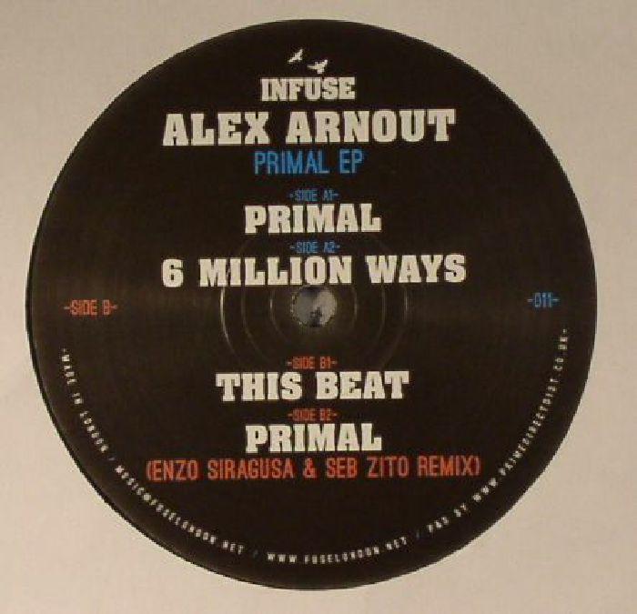 ARNOUT, Alex - Primal EP