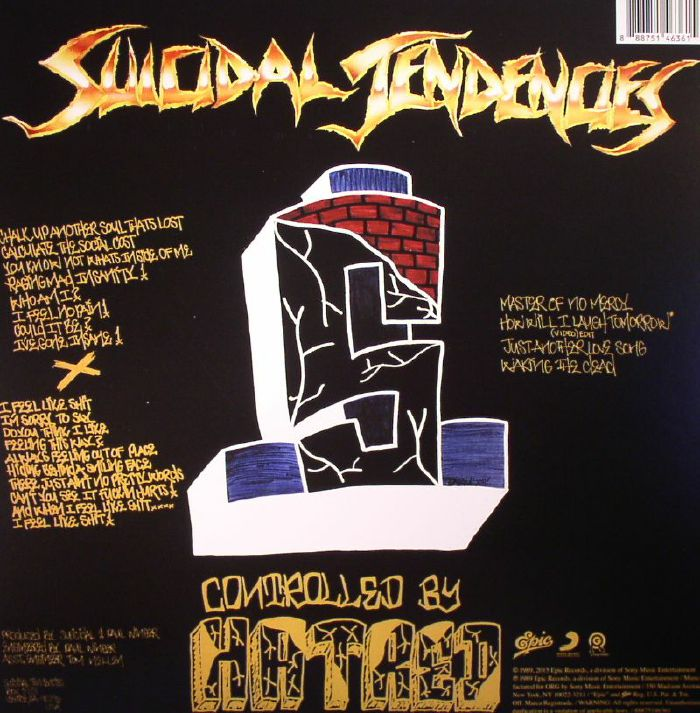 SUICIDAL TENDENCIES - Controlled By Hatred/Feel Like Shit Deja Vu