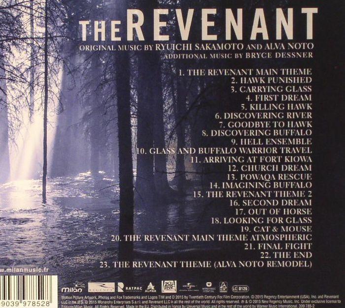 Juno Recordsのthe Revenant Soundtrack