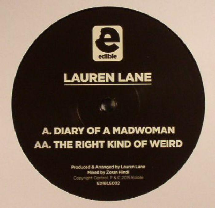 LANE, Lauren - Diary Of A Madwoman