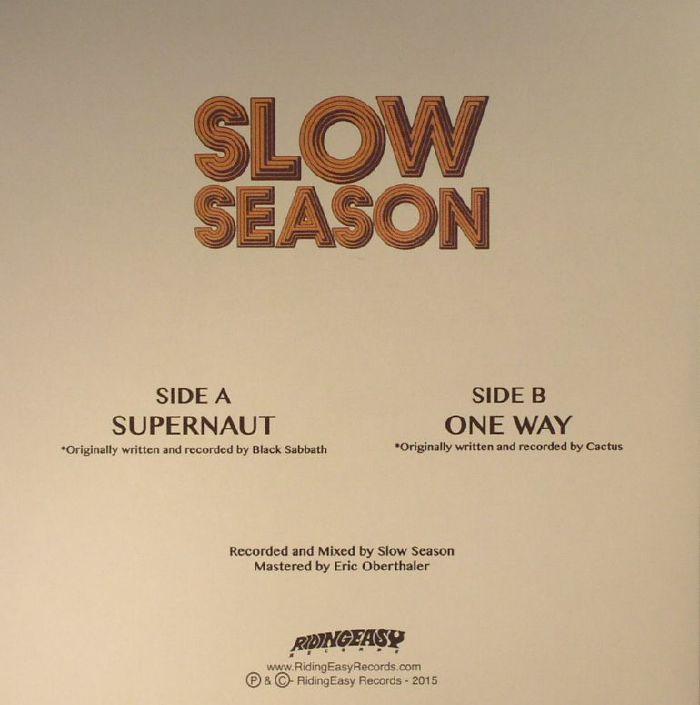 SLOW SEASON - Supernaut