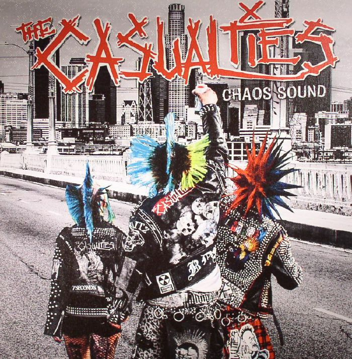 CASUALTIES, The - Chaos Sound