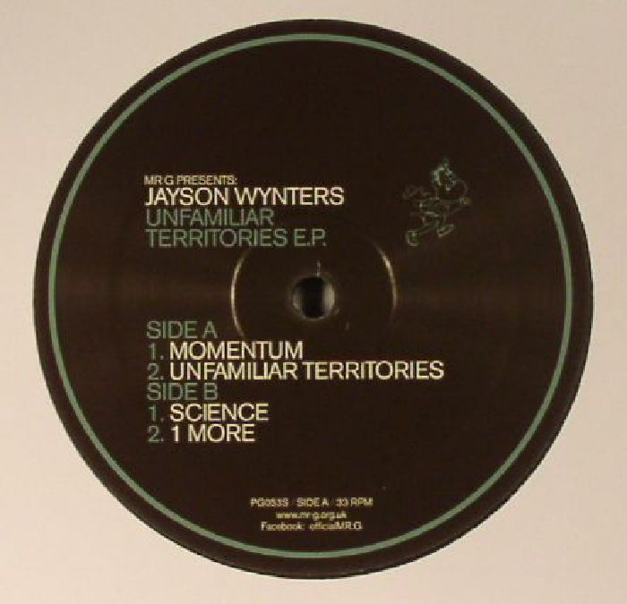 MR G presents JAYSON WYNTERS - Unfamiliar Territories EP