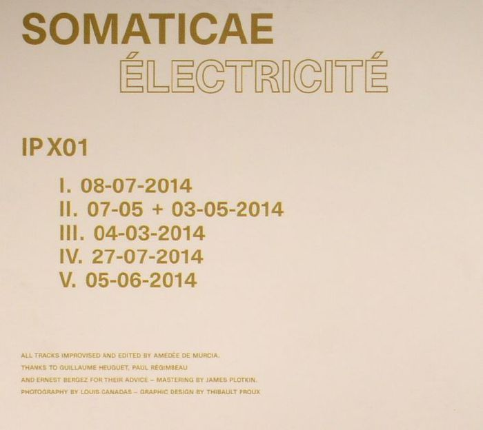 SOMATICAE - Electricite