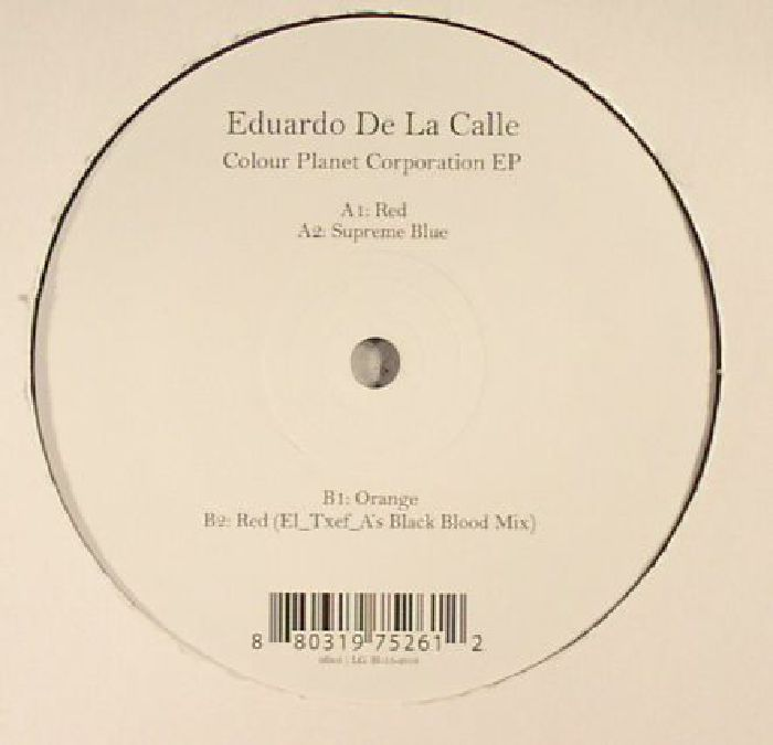 DE LA CALLE, Eduardo - Colour Planet Corporation EP
