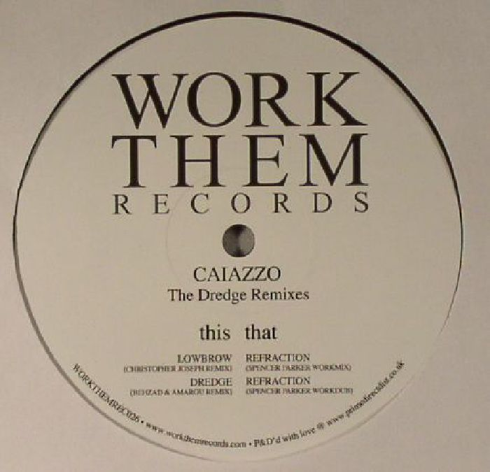 CAIAZZO - The Dredge (remixes)